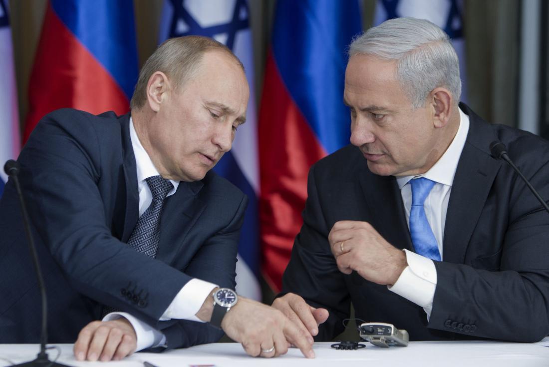 Putin-to-Netanyahu